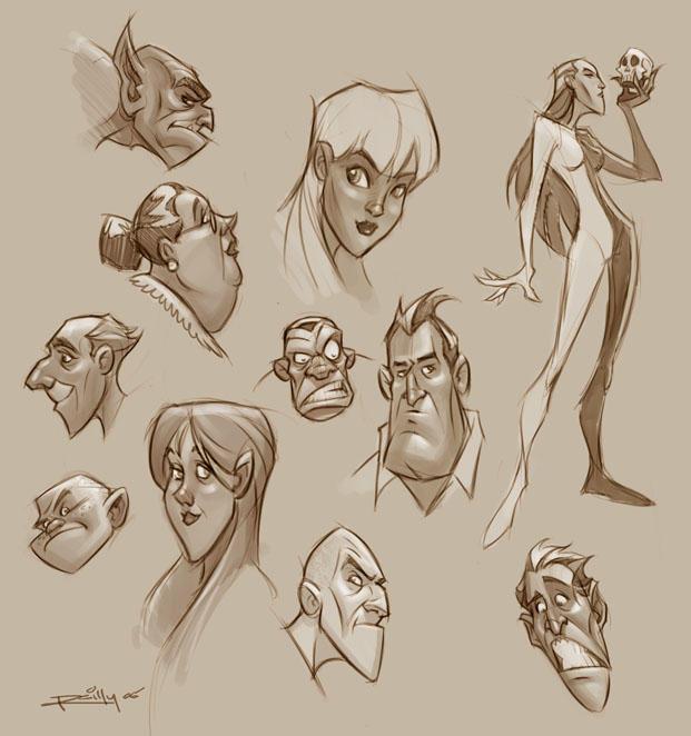deviantart character sketches - photo #13