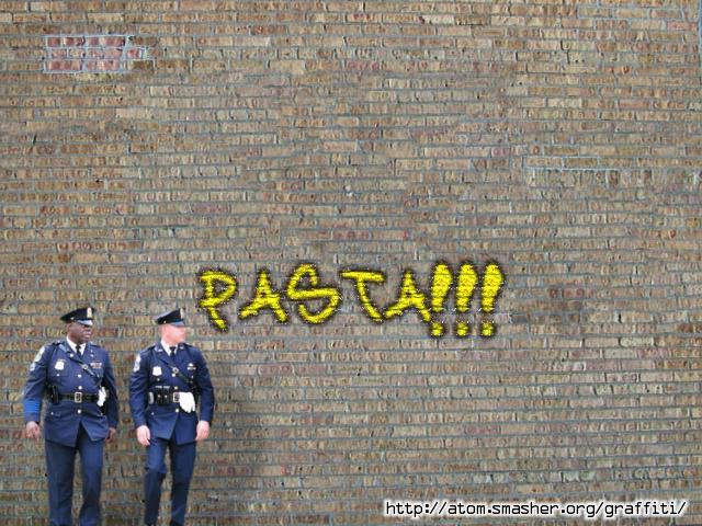 Graffiti (PASTA!!!) by madibear6