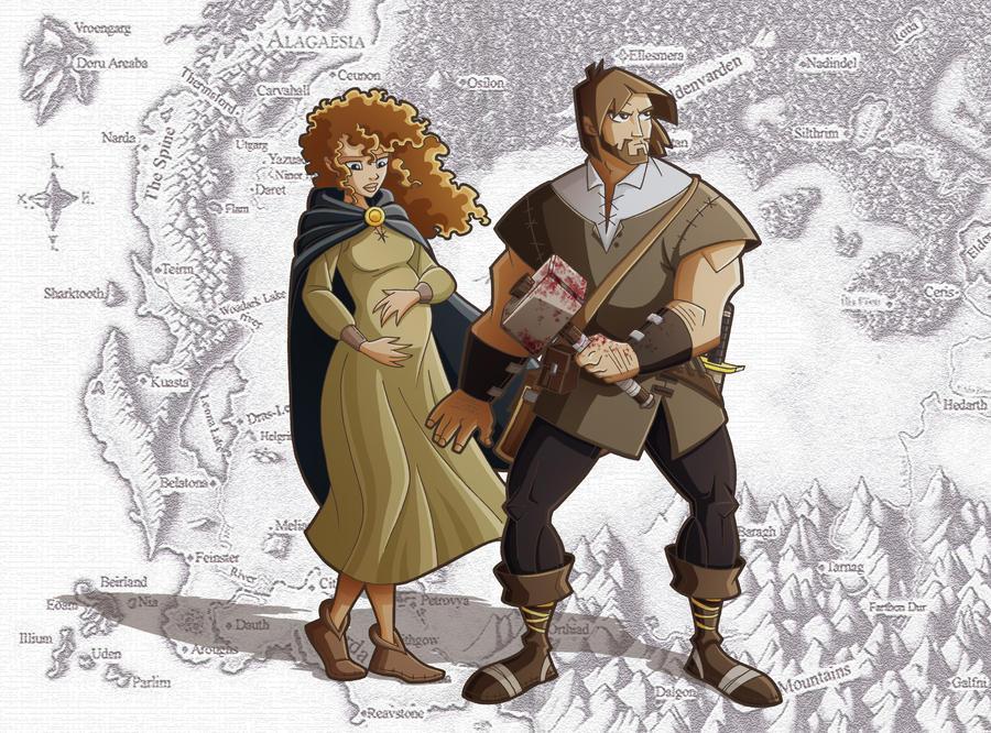 Roran and Katrina by Eumenidi