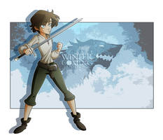 Arya Stark by Eumenidi