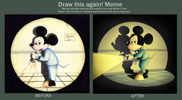 Draw This Again: Mickey Mouse