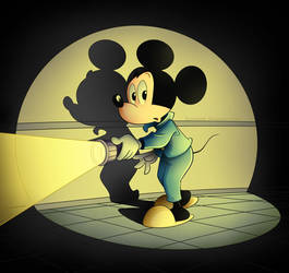 Mickey Mouse by Eumenidi
