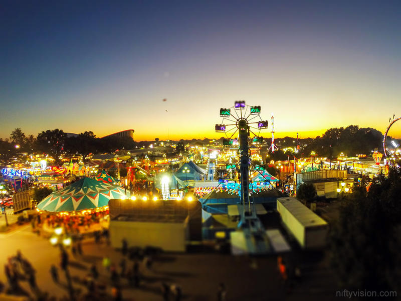 Last Sunset of the State Fair by Azgard2274