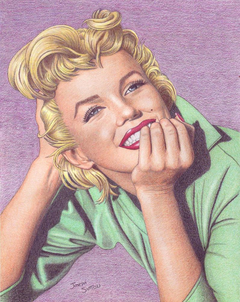 Marilyn Monroe by crystalunicorn83