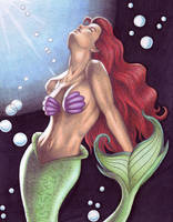 Ariel Aglow by crystalunicorn83