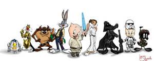 Star Wars Loony Toons?