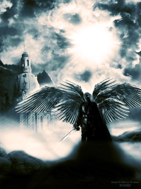A fallen angel by Jpgod