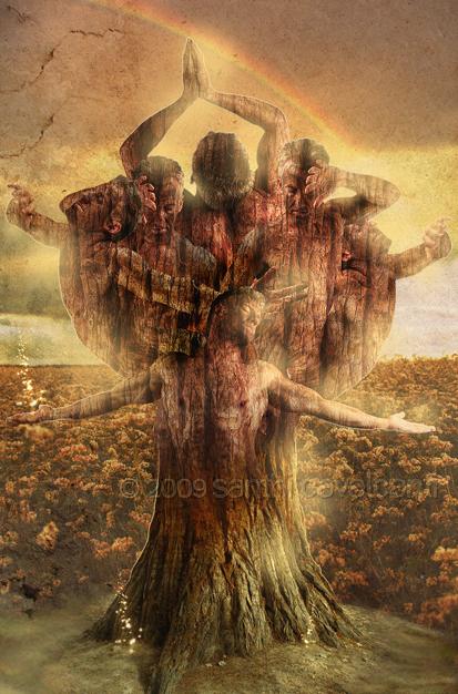 Elemental: Ancient Earth Tree by heavencall