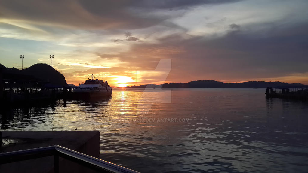 Emotions blown away by sun dawn... by nejo233