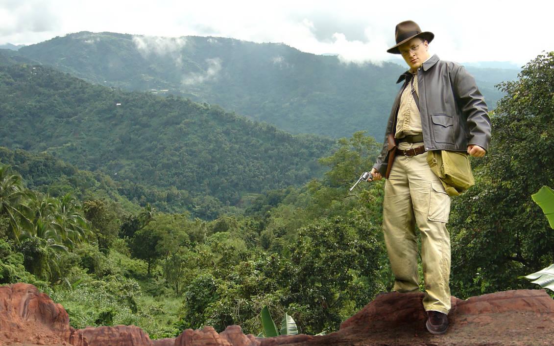 Norman as Indiana Jones by Eschenfelder