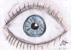 The eye by Eschenfelder