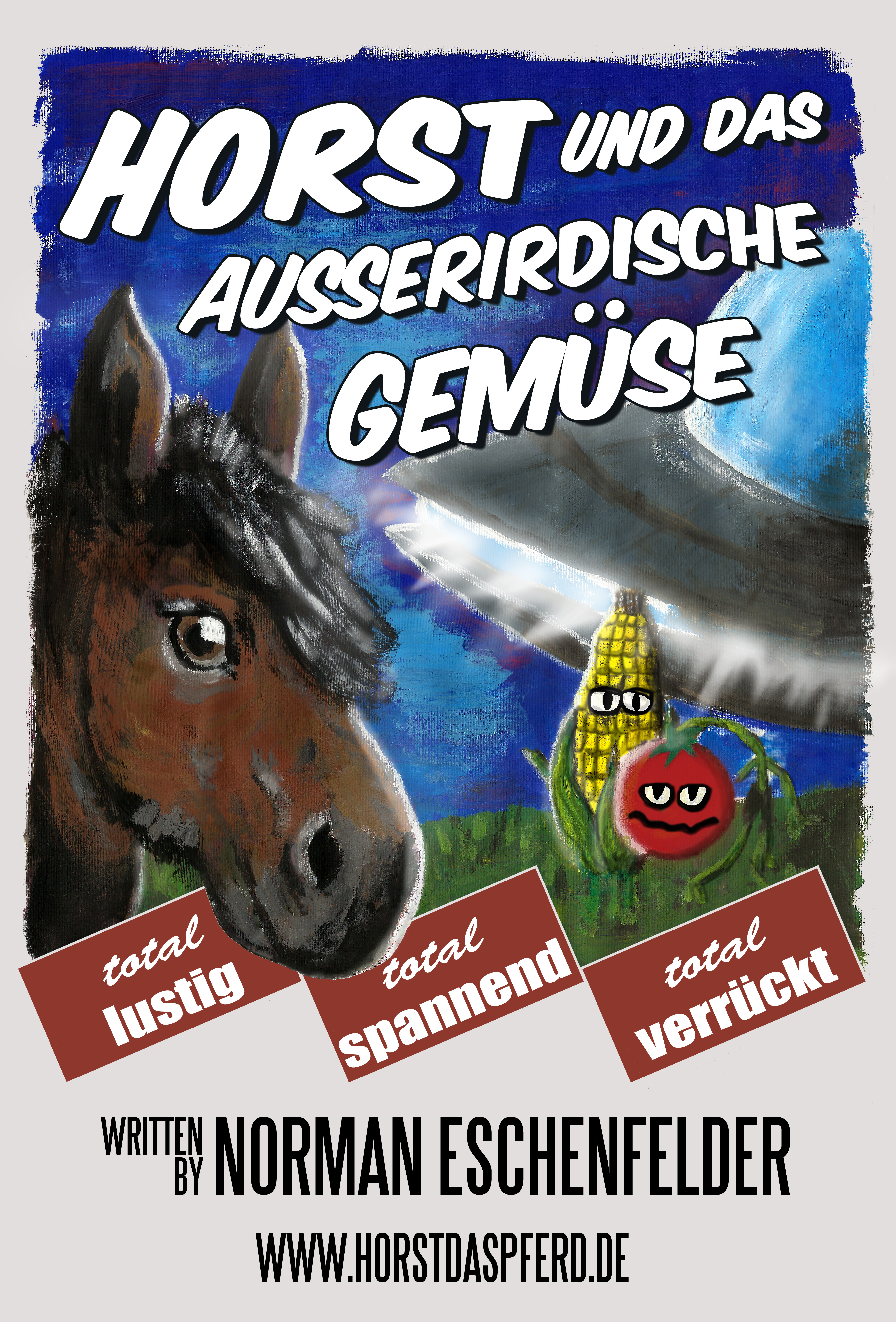 Horst und das ausserirdische Gemuese - Poster by Eschenfelder