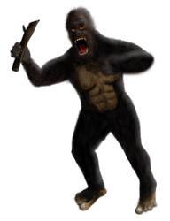 Bigfoot - Actually done (4) by Eschenfelder