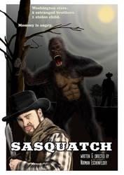 Sasquatch - The Movie Poster by Eschenfelder