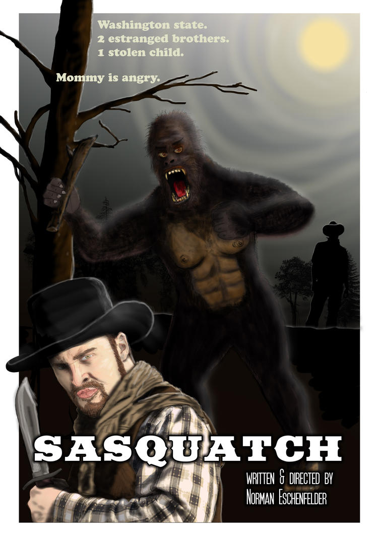 Sasquatch - The Movie Poster by Eschenfelder