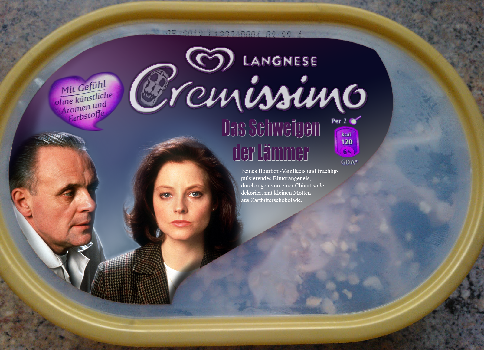 Langnese Cremissimo Silence of the Lambs by Eschenfelder