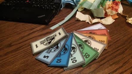 Jurassic Park Monopoly Money Photo