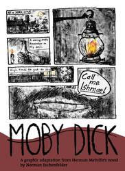 Moby Dick - One Sheet by Eschenfelder