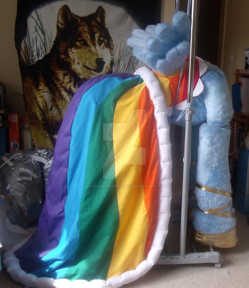 Rainbow Dash Gala Dress by MadHamsterCostumes