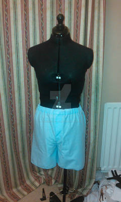 Edward Elric cosplay boxer shorts