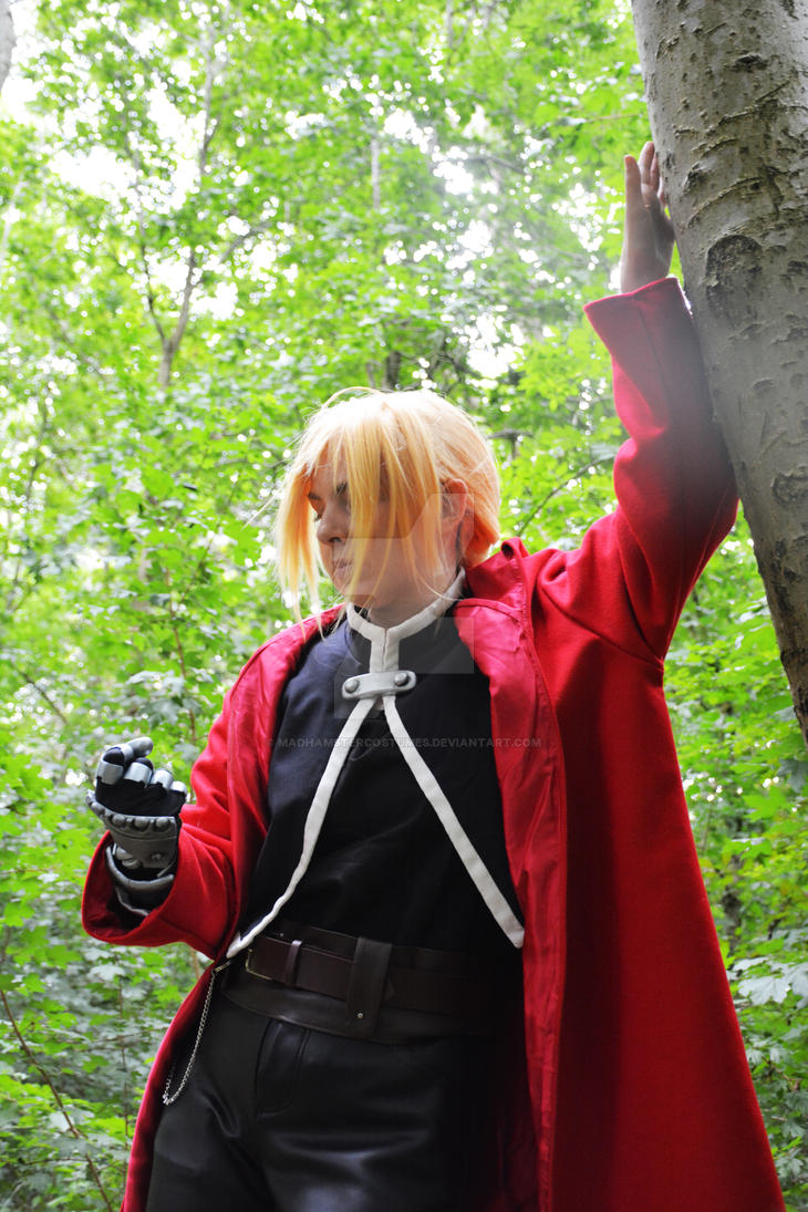Edward Elric cosplay 2015 by MadHamsterCostumes