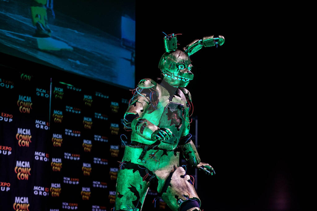 Springtrap Cosplay by MadHamsterCostumes