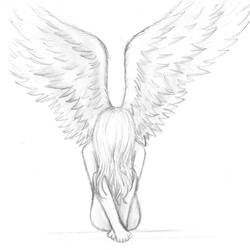 .::Angel pic 2::. by LaSombraMasOscura