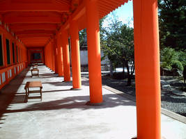 Orange Temple II by Shobie-stock