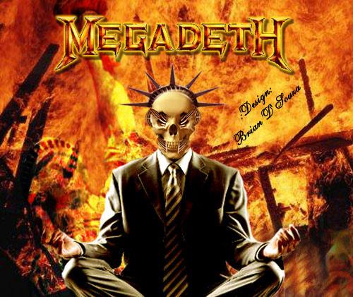 Megadeth - VIC - Brian D'Souza by greenozone