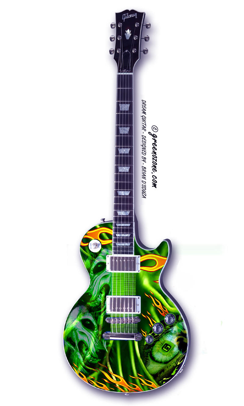 MY DREAM GUITAR by greenozone