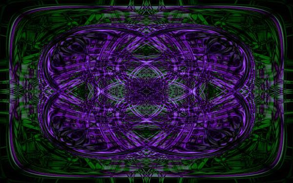 Purple Chaos by mordakae