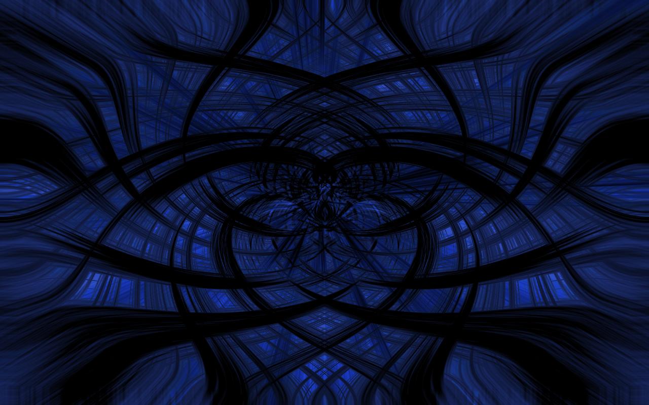 blue background by mordakae