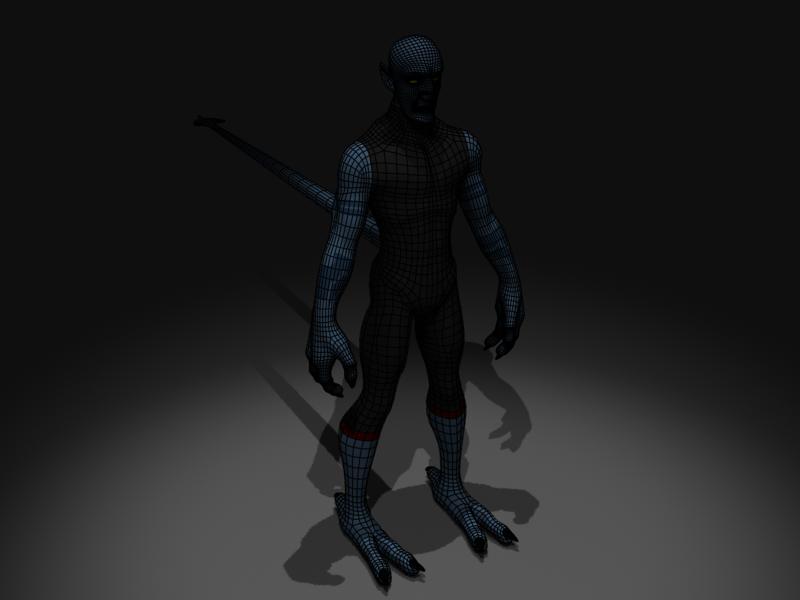 Nightcrawler 3 by mordakae