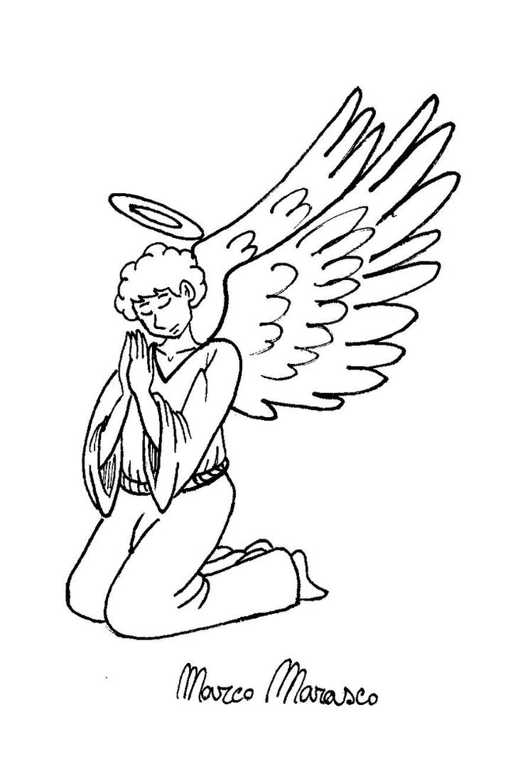 Angel by MarcoMarasco