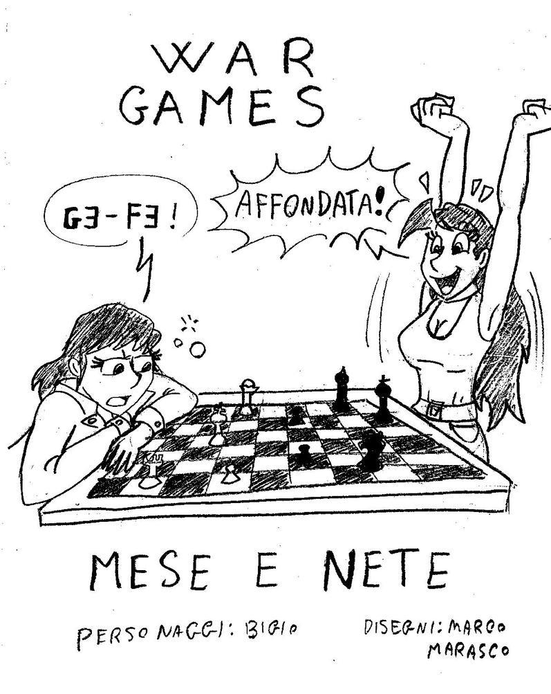 Mese e Nete (muses of ludic arts) by MarcoMarasco