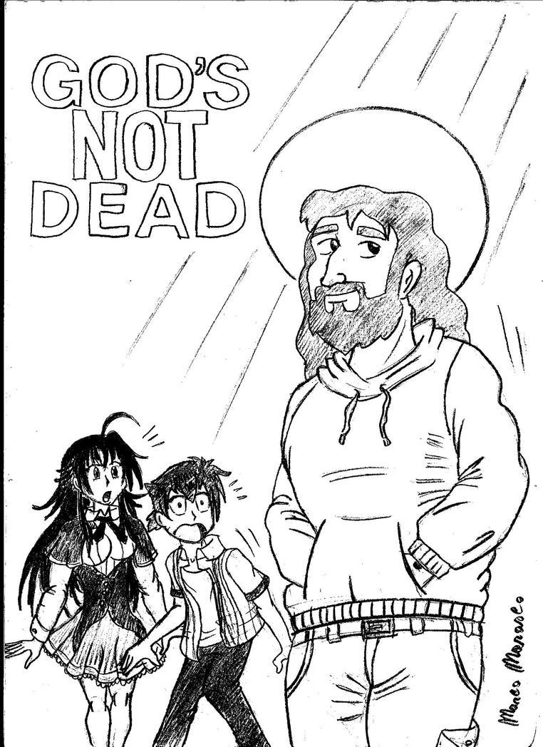 God's not dead by MarcoMarasco