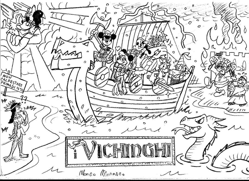 The Vikings by MarcoMarasco