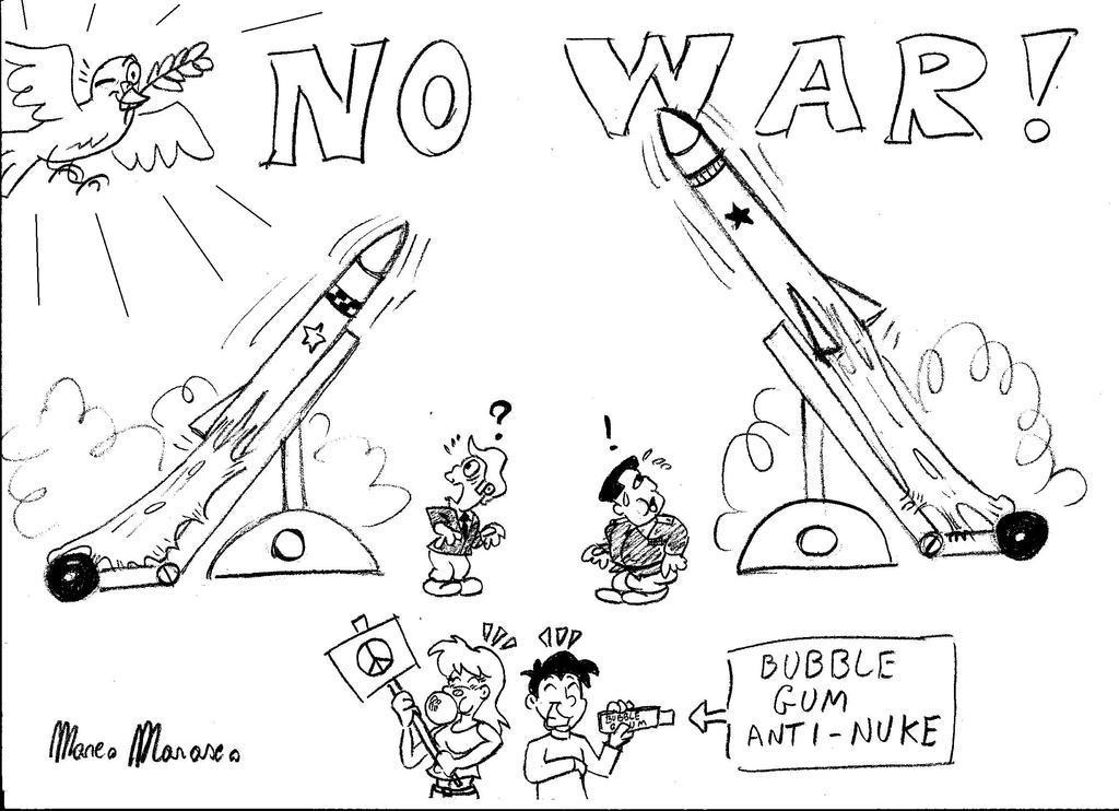 No war by MarcoMarasco