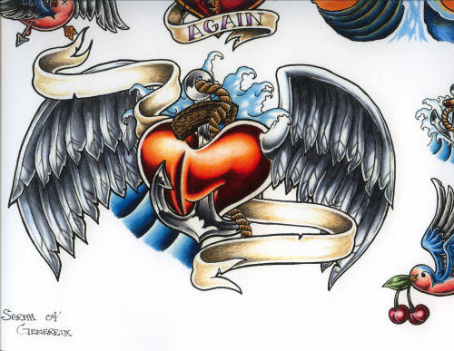 828f53522 Heart Wings By Sheshie Deviantart – Dibujos Para Colorear