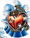 anchor and heart