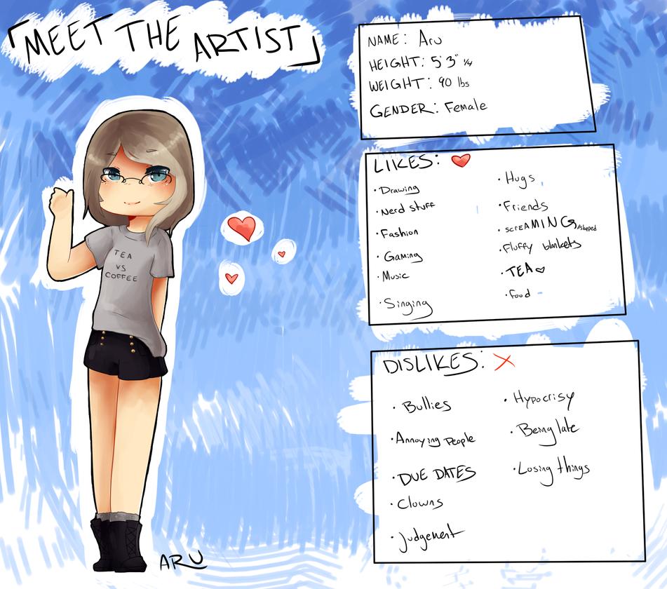 Meet the Artist Meme 2.0 by ZombieAlpacalypse