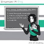 Snapetober 19: Sling