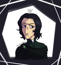 guess what? it's snape again.