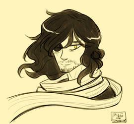 im tired so i draw aizawa