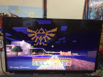minecraft Skyward Sword pixel grid by Stevie127