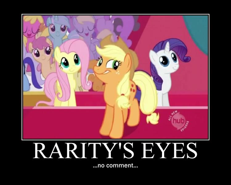 My little pony motivational poster. by rimokina