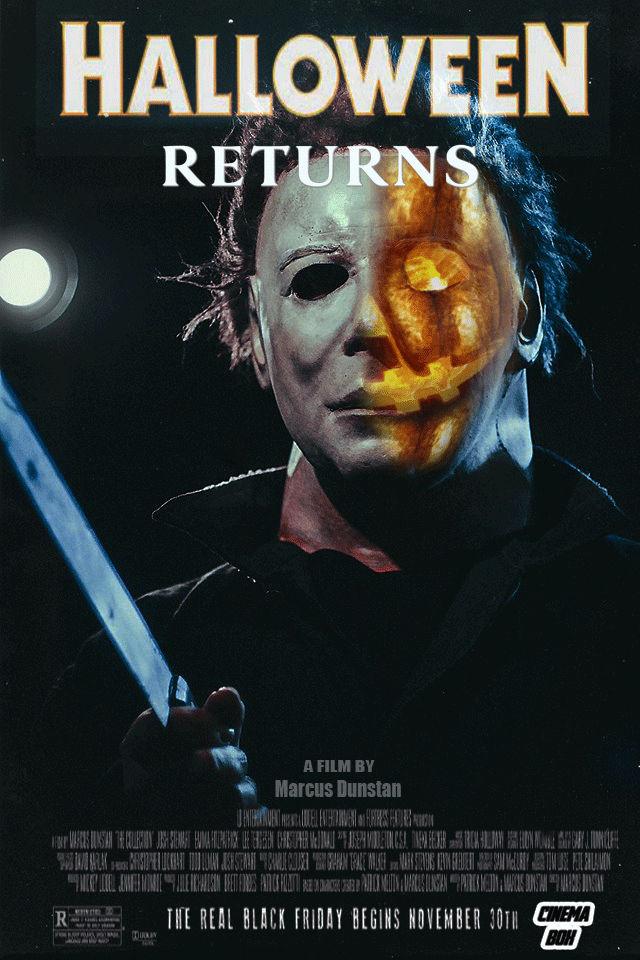 Halloween Returns Fan Poster V2 By Bryanzap On Deviantart