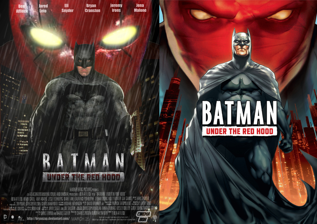 Batman Under The Red Hood Movie Animated By Bryanzap