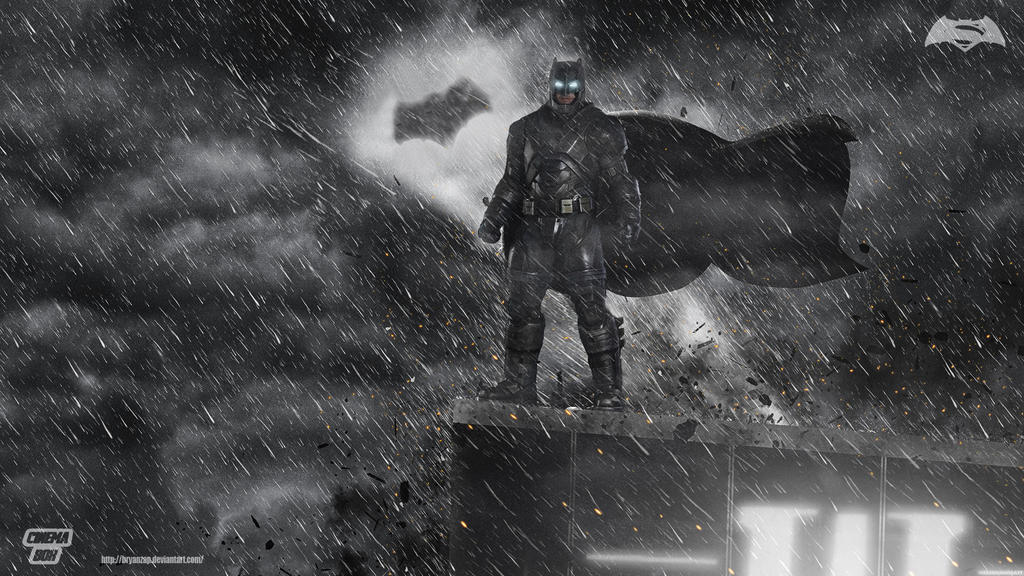 Batman V Superman Armored Wallpaper By Bryanzap