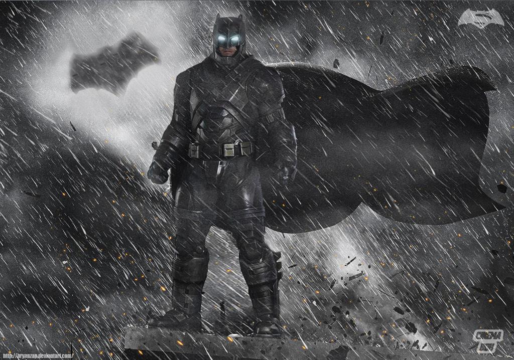 Batman V Superman Armored Close Up By Bryanzap